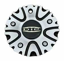 DIP WHEELS Hype C10D50B 12112085F-2 Black and Machined Center Cap
