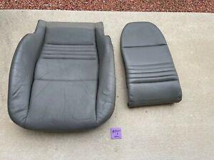 1997-2004 Porsche 996 986 RIGHT Pass Boxster Grey Seat Cushion & Upper Cushion
