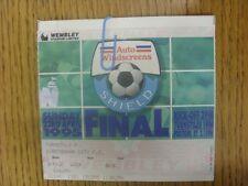 23/04/1995 Ticket: Football League [Auto Windscreens] Trophy Final, Birmingham C