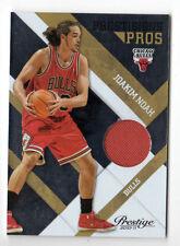 Joakim Noah Nba 2010-11 Prestige prestigieux pros matériaux Gold (Chicago Bulls)