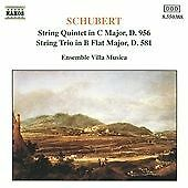 Schubert: String Quintet D 956, etc / Villa Music Ensemble by Schubert.