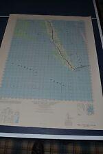 1940's Army topo map Powells Point North Carolina -Sheet 5856 III Kitty Hawk