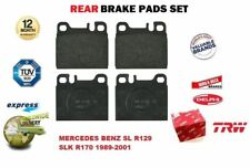 FOR MERCEDES BENZ SL R129 SLK R170 1989-2001 REAR AXLE BRAKE PADS FULL SET