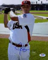 Jay Bruce Futures Game Psa Dna Coa Autograph 8x10 Photo Hand Signed Authentic