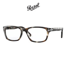 Computer Reading Glasses Persol 3012 1124 Striped Brown Crystal 52 18 140 + Hoya