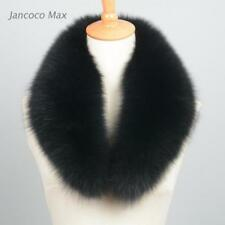 Women / Men Genuine Fur Scarf Collar Shawl Shrug Wrap Neck Warmer Winter 37102C