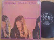 CATHERINE RIBEIRO + ALPES - La Deboussole ORIG Philips LP PROG PSYCH NM
