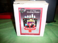 "6.25"" Casino Gambling Blackjack Table Christmas Stocking Holder NIB"
