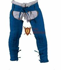 Medieval Lagging Thick Padded Gambeson Armor Hauberk Chausses Lower Under