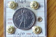 CITTA' DEL VATICANO PIO XII 50 CENT 1941  sigillata FDC SUBALPINA