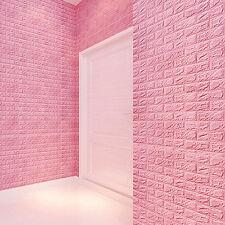 3D ZIEGEL Wandaufkleber Selbstklebend Schaum Tapete Paneele Zimmer Aufkleber -K1