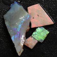 46.5 cts Australian Solid Semi Black Opal Rough Parcel, Lightning Ridge Gem Ston