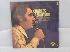 Charles Aznavour – Les Jours Heureux                   Barclay – 71418