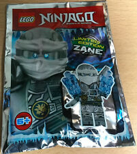SACHET POLYBAG LEGO MINIFIGURE FIGURINE NINJA NINJAGO NEUF LLOYD V2 TENUE NOIRE