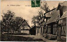 CPA Villers sur Mer - Une Ferme (271864)