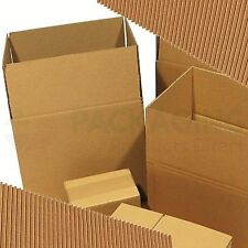 """10 x SMALL S/W MAILING PACKAGING SHIPPING CARDBOARD BOXES 8x6x6"""""""