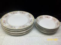 Montgomery Ward Style House CHIPPENDALE  Plates & Bowls Japan Set of 12 Japan