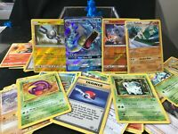 Lot of 90 Pokemon +GYRADOS GX+ HOLOS |1999 BASE SET| ,Fossil , Jungle & MORE!