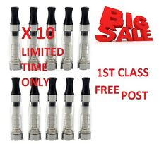 10 X CLEAR ATOMIZER E_SHISHA CLEAROMIZER ATOMISER CLEAROMISER TANKS NEW