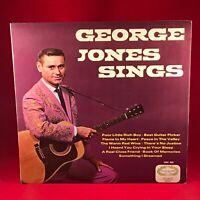 George Jones Sings - 1967  UK Vinyl LP EXCELLENT CONDITION HM562 Hallmark
