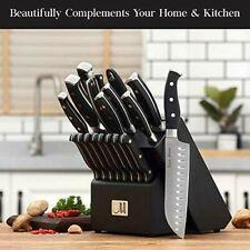 19-Piece Premium Kitchen Knife Set With Wooden Block German