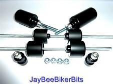 KAWASAKI Z750 R S 2007 ONWARD SET OF 8 CRASH MUSHROOMS SLIDERS BUNGS BOBBIN TS38