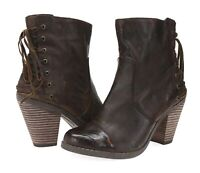 ADAM TUCKER & ME TOO Womens 'Peru 4' Dark Brown Leather Sz 7.5 M Boots 204532