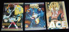 Fanzine fumetti ACE 3 numeri