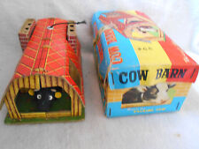5 inch Bessie The Talking Cow Barn Made in Japan w/ Original Box Pull String