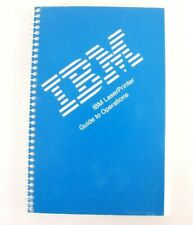 IBM Laser Printer User Manual Guide To Operations Instructions 4th Edition 1990