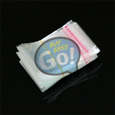 New 500pcs Wholesale Lots Self Adhesive Seal Plastic Bags 3x7cm