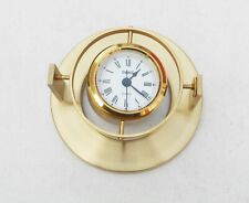 Stockburger Brass Clock Made In Germany