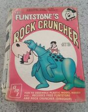 Hanna Barbera Fred Flintstone's Rock Cruncher Model kit 1974