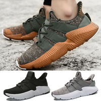 Mens Sneakers Running Casual Athletic Breathable Sport Gym Fitness Lace up Shoes