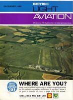 LIGHT AVIATION MAGAZINE 1966 DEC PILOT REPORT CESSNA U.206, INSIDE BLAC