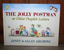The Jolly Postman or Other People's Letters, Ahlberg, Janet, Hardcover VGC