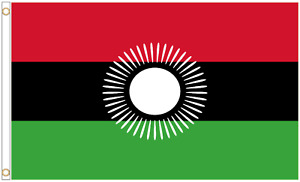 Malawi 2010 to 2012 Polyester Flag - Choice of Sizes