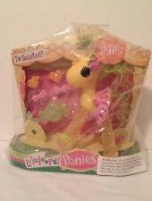 "New NIP Yellow Lalaloopsy Ponies Scented Pina Sew Magical Sew Cute 5"""