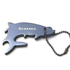 Simms Thirsty Tarpon Keychain - Slate Blue - On Sale Now!