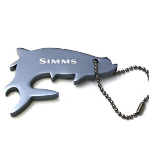 Simms Thirsty Tarpon Keychain - Slate Blue - ON SALE NOW!