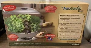 Aerogarden Classic Kitchen Garden with Original Box - New In Box