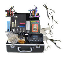 New Quality Tattoo Body Piercing jewellery complete machine power needles sets