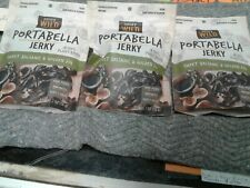EXPIRED 12/20/19 3 pack Sweet Balsmic And Golden Fig portabella Jerky