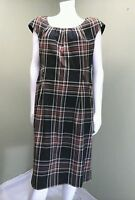 Jones New York Multi-Color Plaid Dress~ Size 16