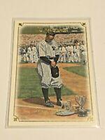 2007 UD Masterpieces Baseball Base Card #8 - Lou Gehrig - New York Yankees