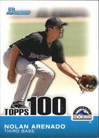 2010 Bowman Topps 100 Prospects #TP-49 Nolan Arenado Colorado Rockies