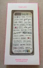 NWT Iphone 5/5s Ban.do Scribble Multi-Color Hard Cell Phone Case