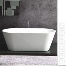freestanding vasca bagno COLATA minerale ALMERIA PIETRA BIANCO 170x80cm SOLIDO