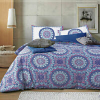 Apartmento SHAKIRA Reversible Quilt Doona Cover Set - Single Double Queen King