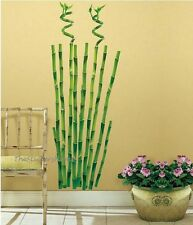BAMBOO SHOOT TREE Wall stickers Vinyl Decal Chinese Bamboo Floral Branch Plant